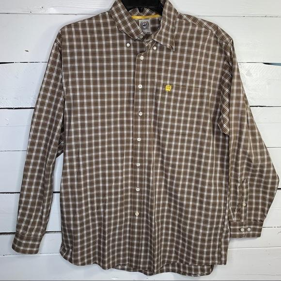 Cinch Western Dress Shirt Size XL